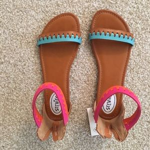 Very cute colorful strappy sandals from Target!